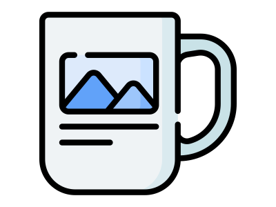 Заказать кружку с фото, логотипом типография БАМ