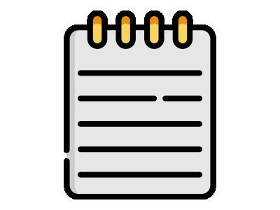 Заказать блокноты типография БАМ